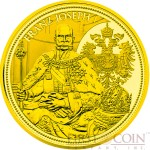 Austria THE IMPERIAL CROWN OF AUSTRIA series Crowns of the House of Habsburg's €100 Euro Gold Coin Proof 2012
